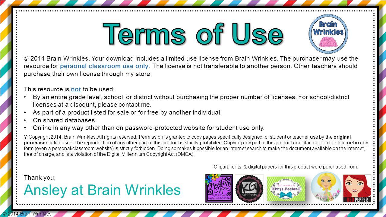 © 2014 Brain Wrinkles © 2014 Brain Wrinkles.