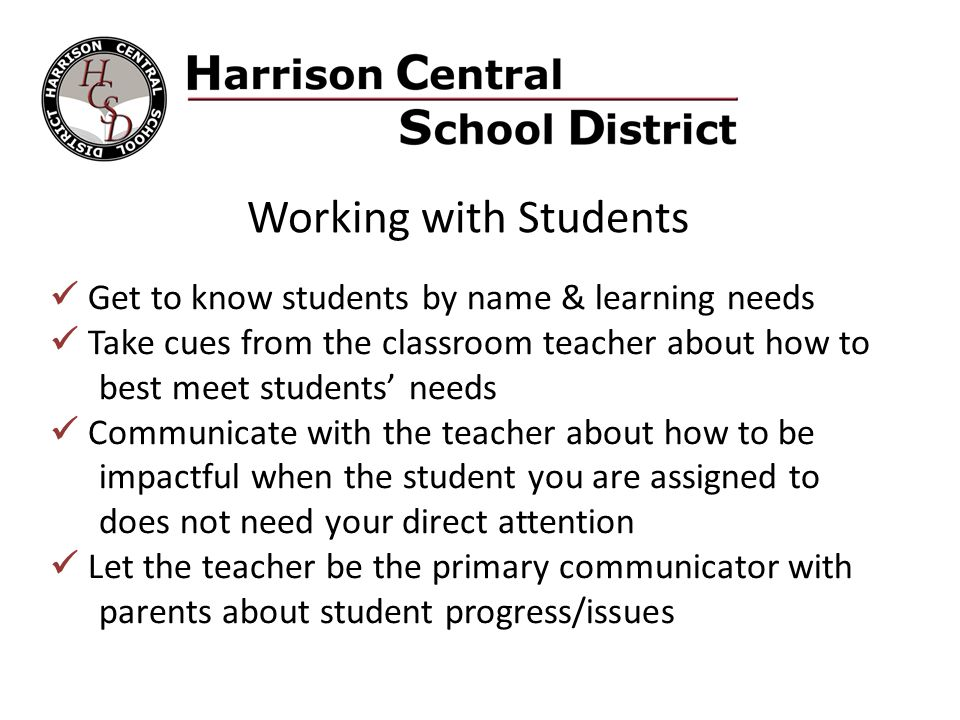 Scenario #1: Turn & Talk You are a 1:1 teacher aide in a classroom assigned to a specific student.
