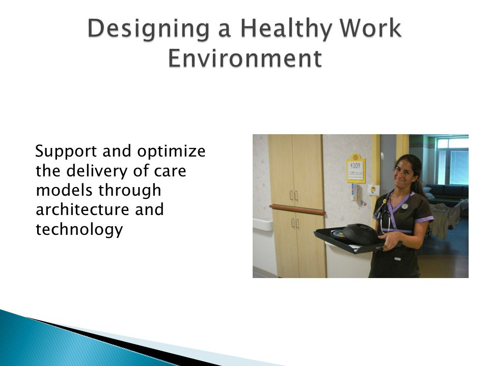 Support and optimize the delivery of care models through architecture and technology