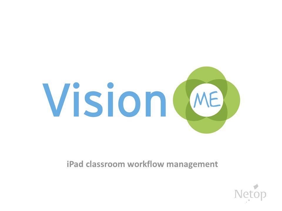 iPad classroom workflow management