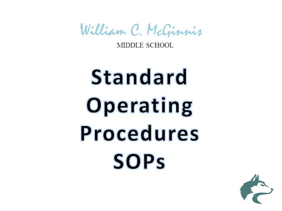 William C. McGinnis MIDDLE SCHOOL