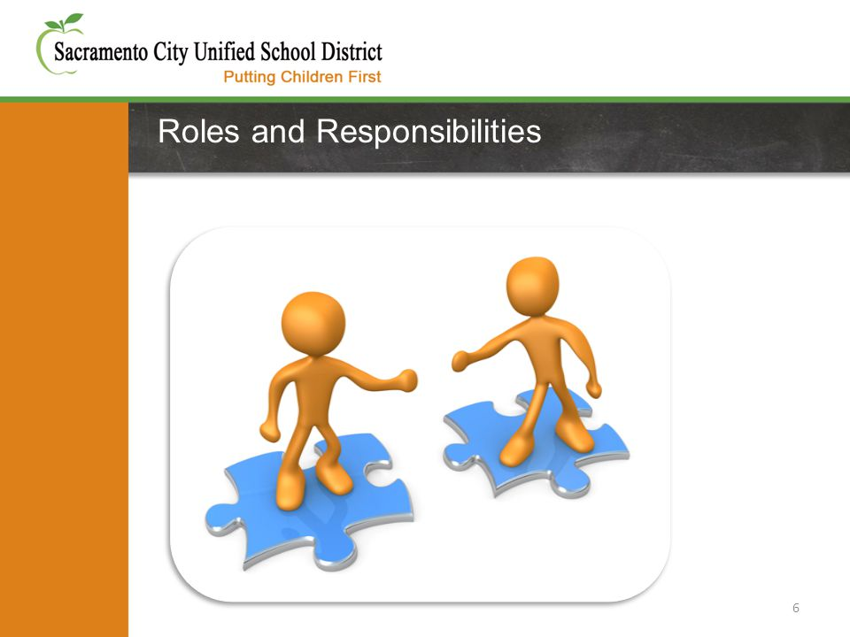 Roles and Responsibilities 6