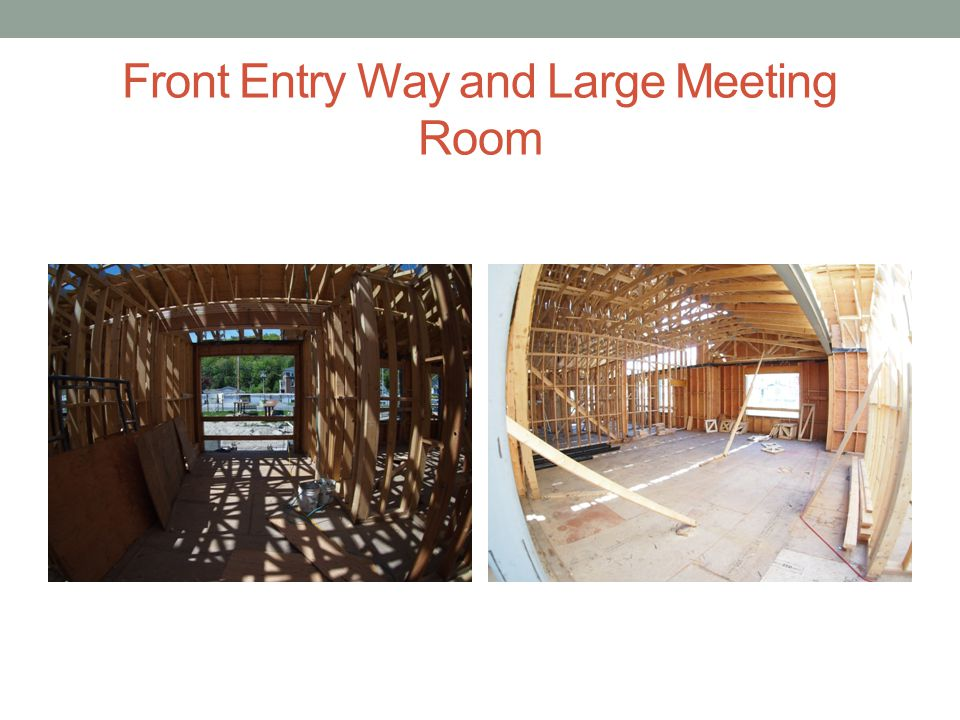 Front Entry Way and Large Meeting Room