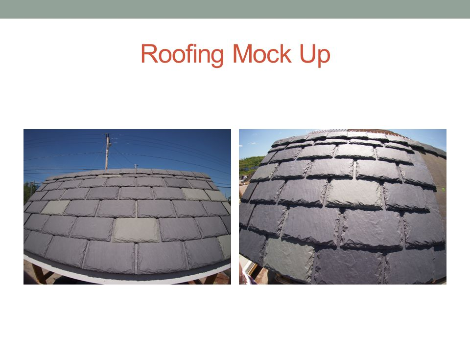 Roofing Mock Up