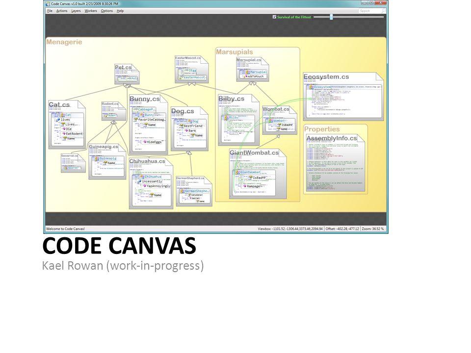 CODE CANVAS Kael Rowan (work-in-progress)