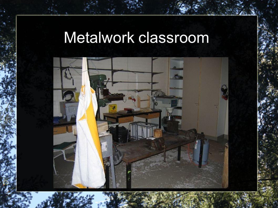 Metalwork classroom