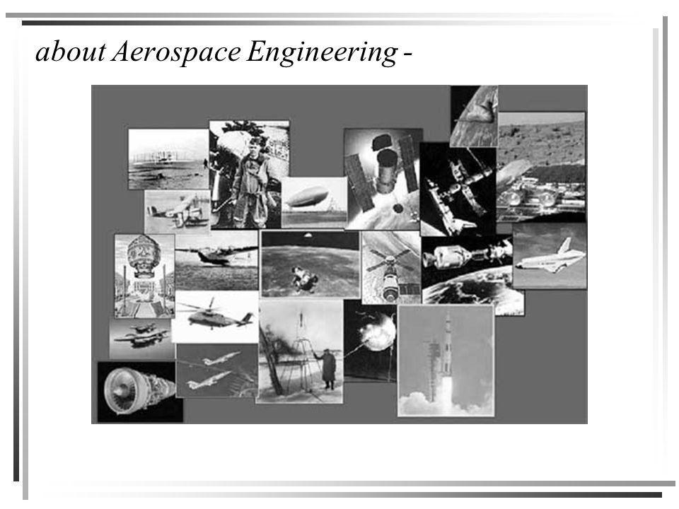 about Aerospace Engineering -