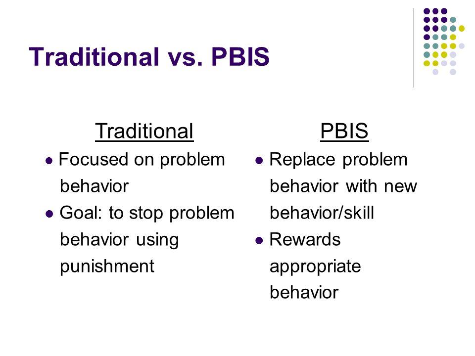 Traditional vs.