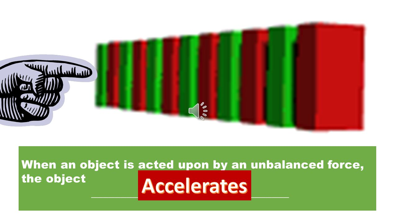 SpeedVelocityAcceleration Place the following statements in the correct column: 1.Change in direction of an object. 2.Includes the speed of an object.