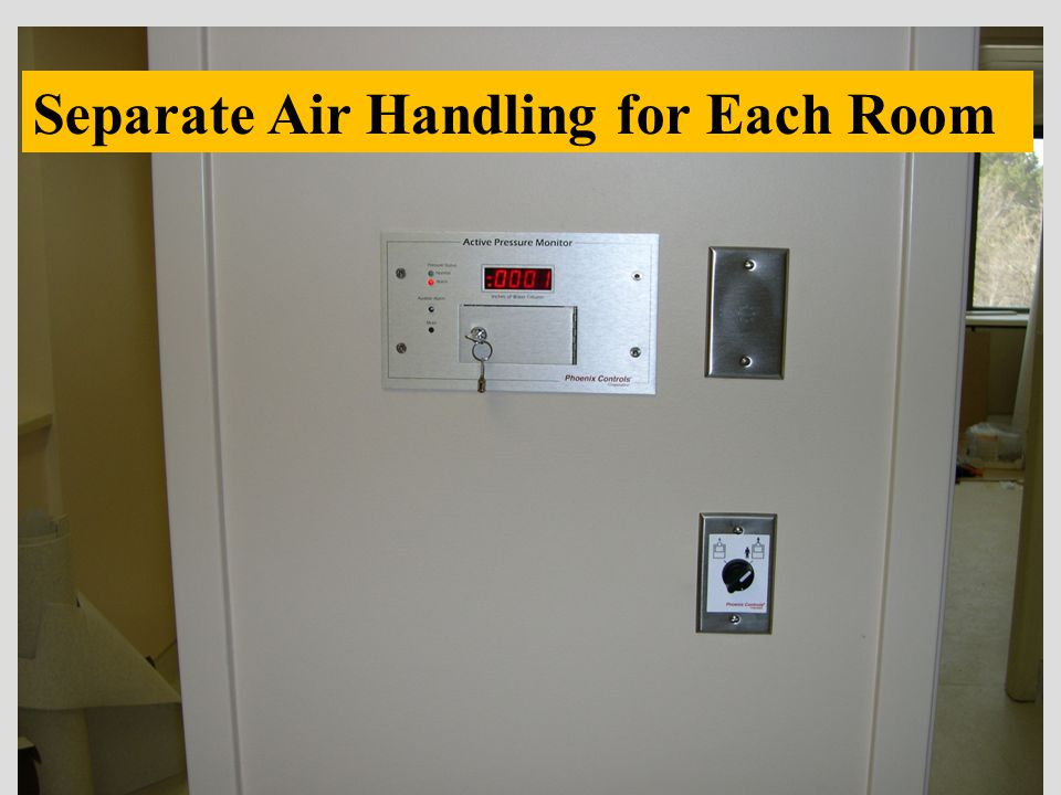 Separate Air Handling for Each Room