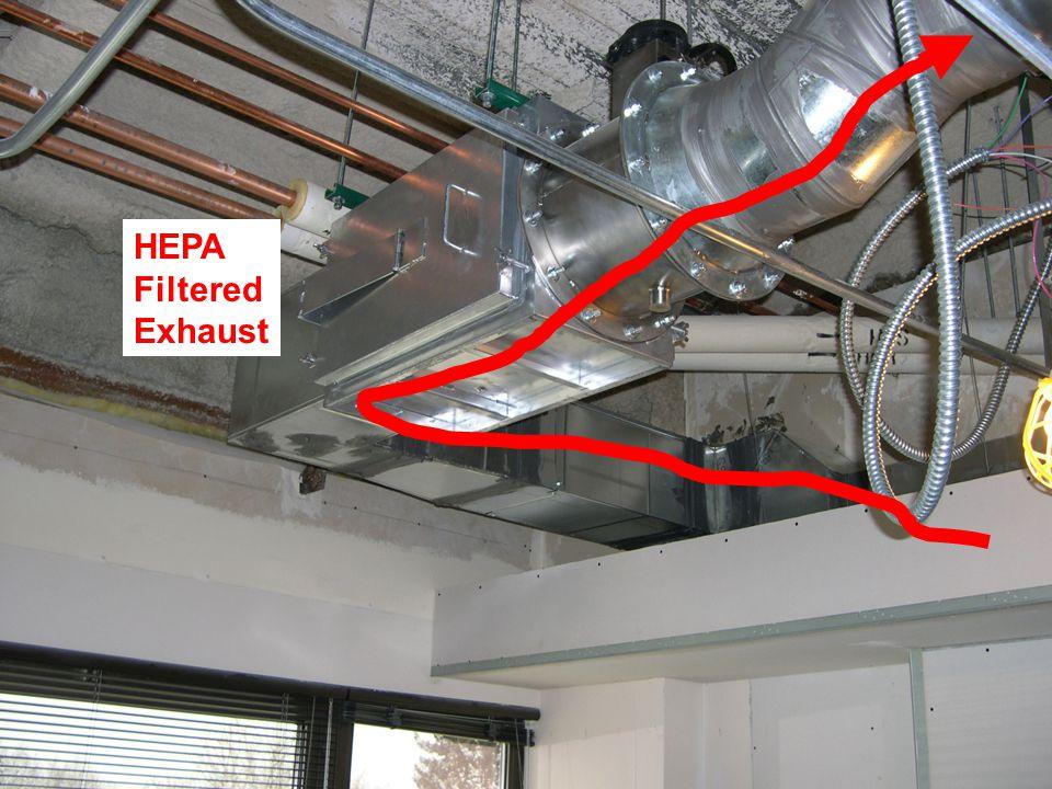 HEPA Filtered Exhaust