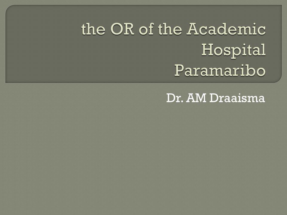 Dr. AM Draaisma