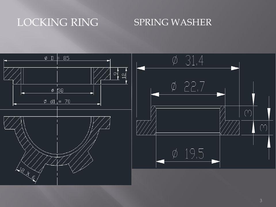 LOCKING RING SPRING WASHER 3