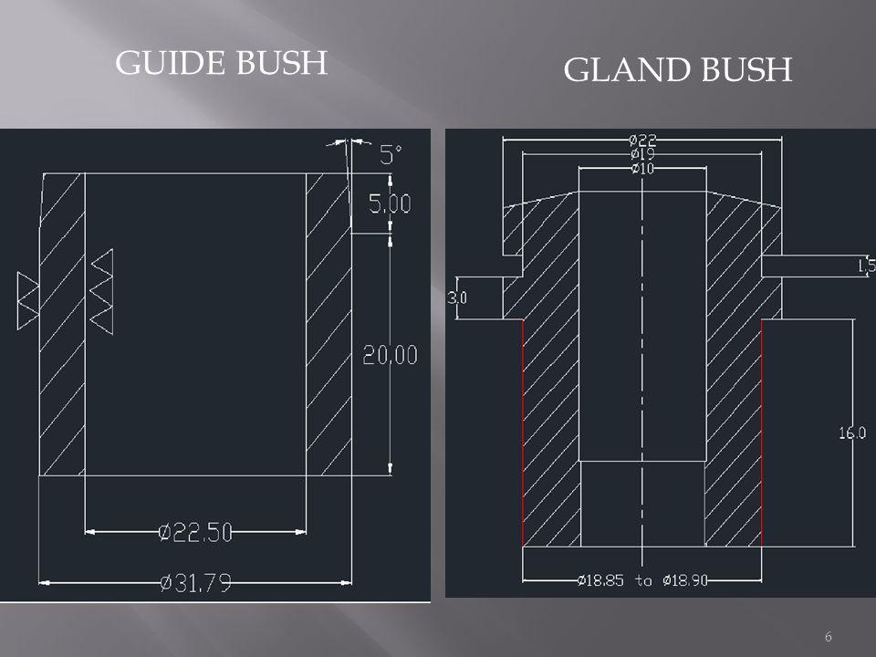 GUIDE BUSH GLAND BUSH 6