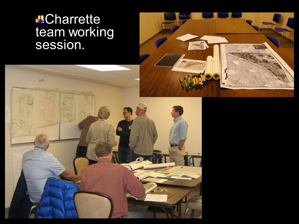 Charrette team working session.