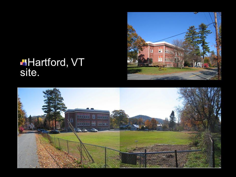 Hartford, VT site.