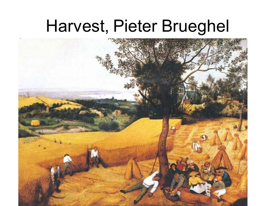 Harvest, Pieter Brueghel