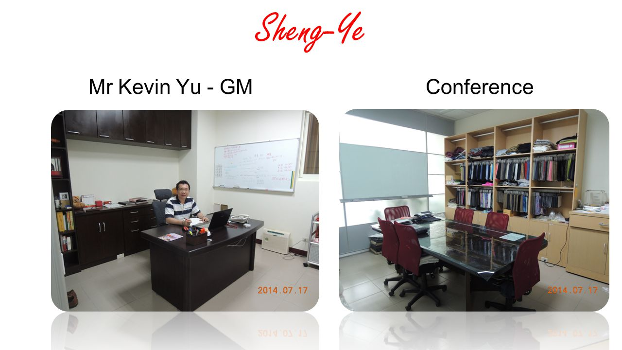 Sheng-Ye Mr Kevin Yu - GM Conference
