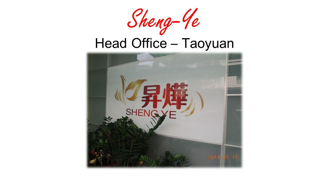 Sheng-Ye Head Office – Taoyuan