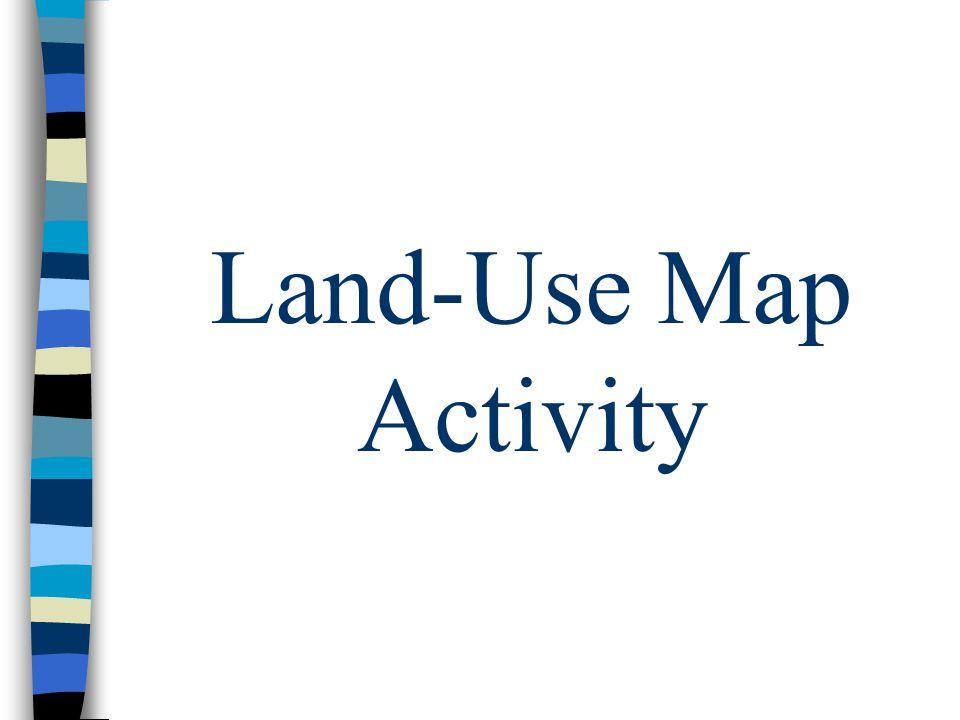Land-Use Map Activity