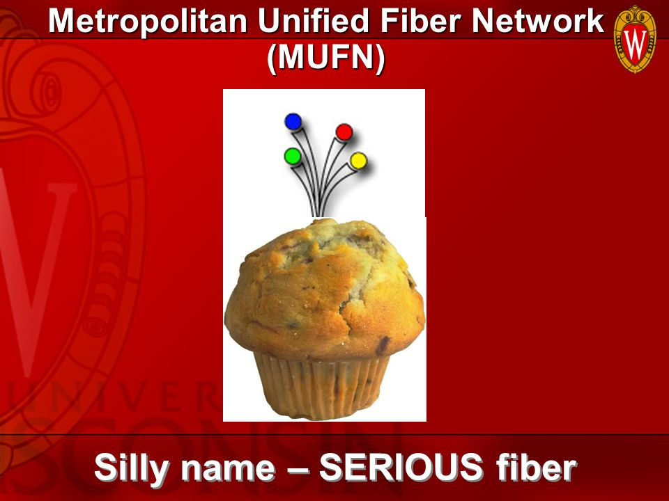 Metropolitan Unified Fiber Network (MUFN) Silly name – SERIOUS fiber