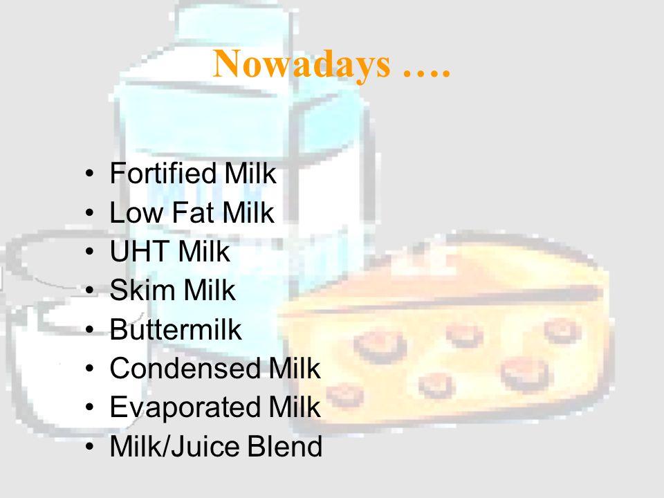 Dairy in the Good 'ol Days Fresh Milk Cream Butter
