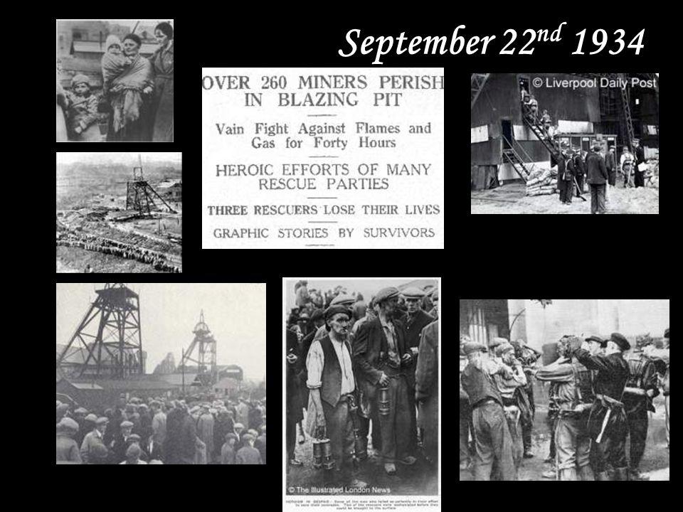 September 22 nd 1934