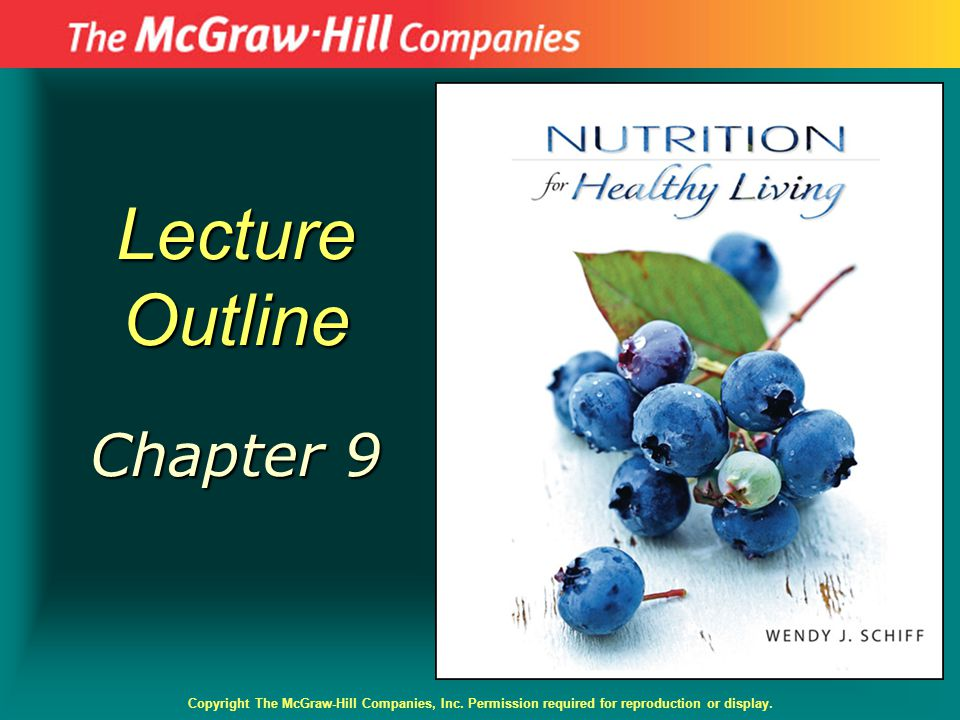 Lecture Outline Chapter 9 Copyright The McGraw-Hill Companies, Inc. Permission required for reproduction or display.