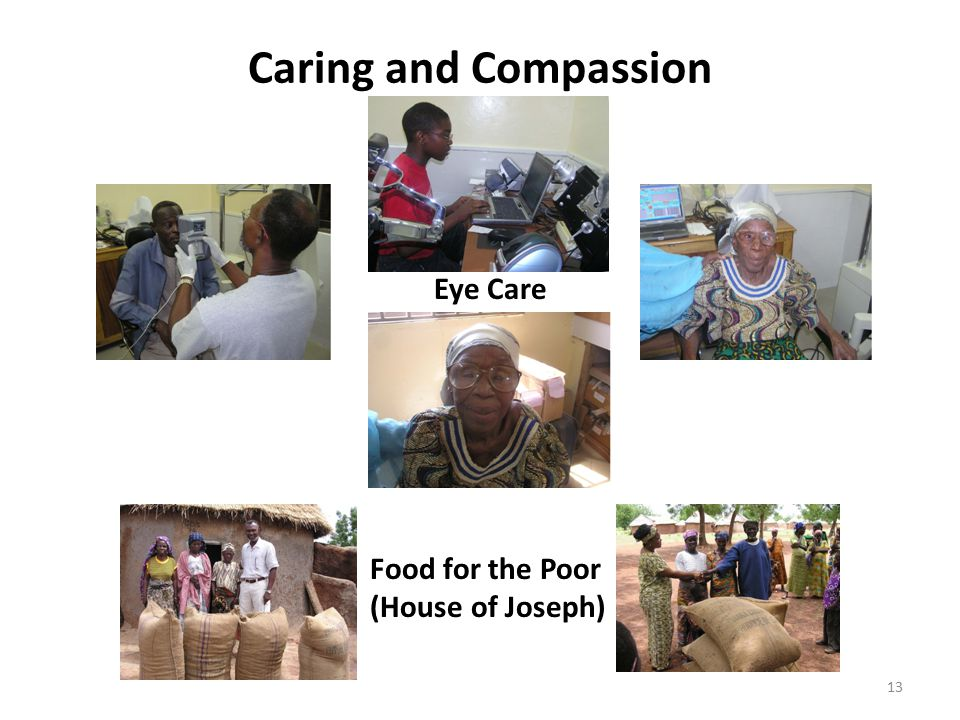 Caring and Compassion Eye Care Food for the Poor (House of Joseph) 13