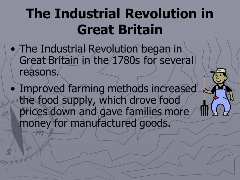 Chapter 12 Section 1: The Industrial Revolution