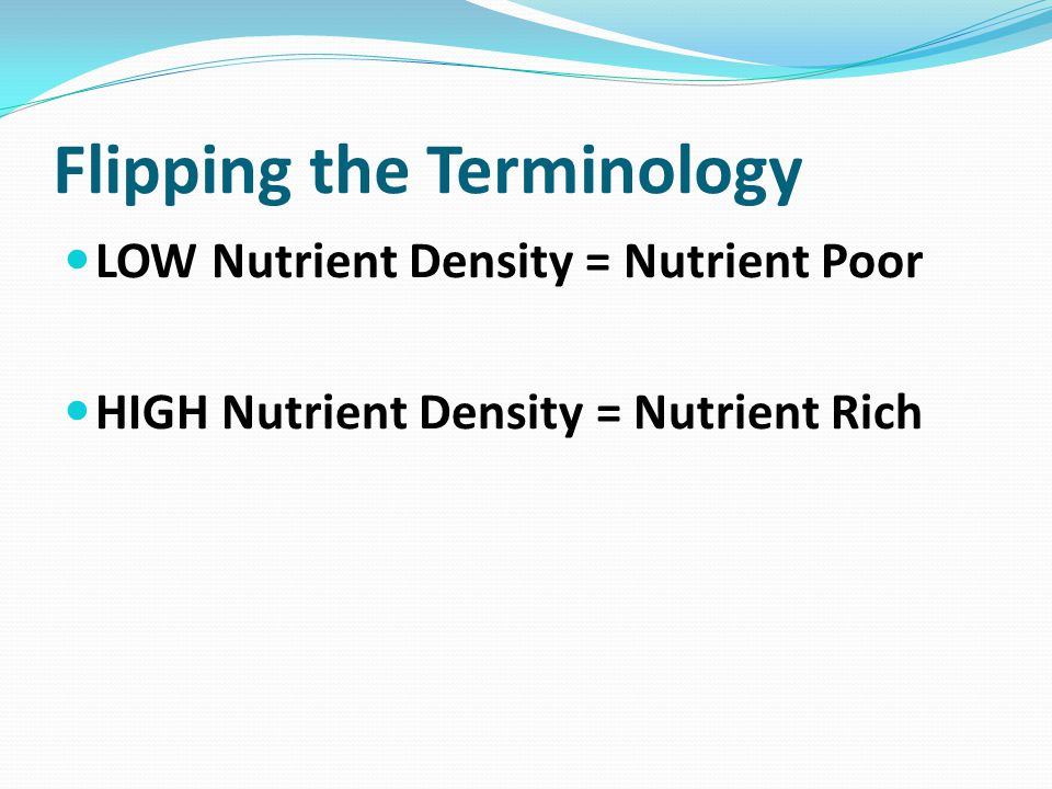 What is the Nutrient Rich Coalition.