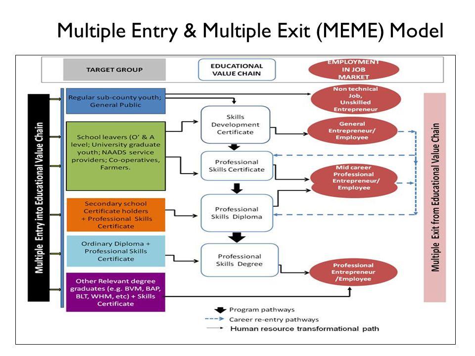 Multiple Entry & Multiple Exit (MEME) Model