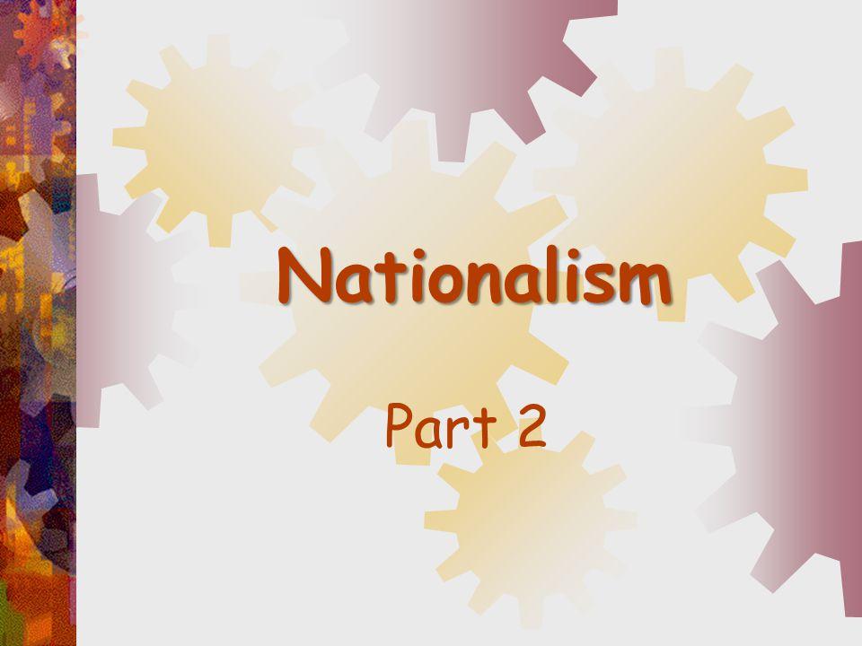 Nationalism Part 2