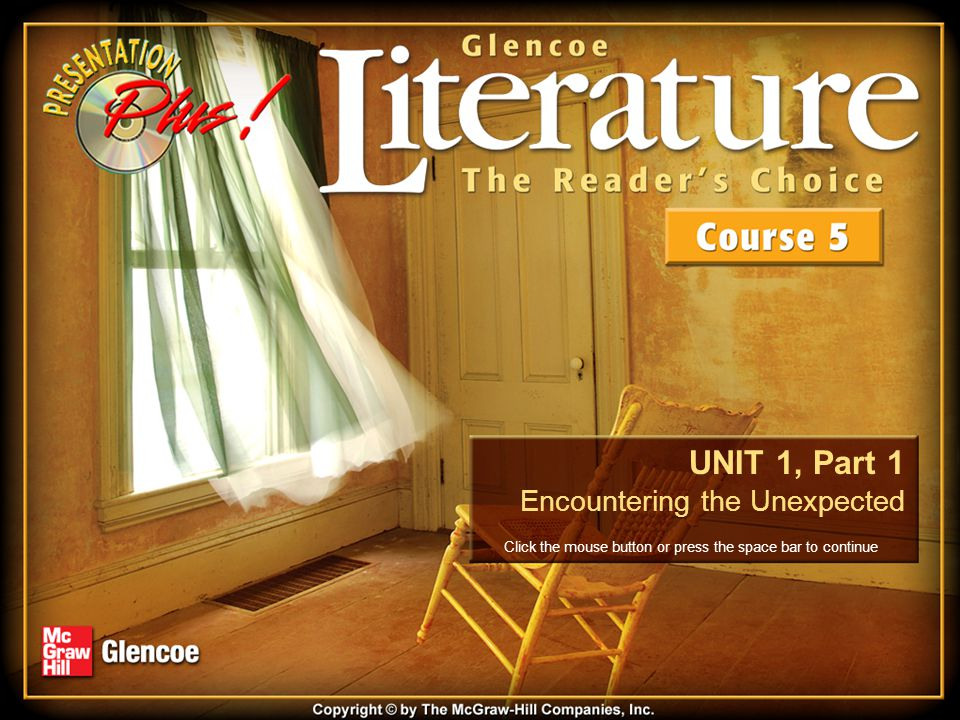 Unit 1, Part 1 The Californian's Tale 4.(a) Explain what the narrator learns at the end of the story about the woman.