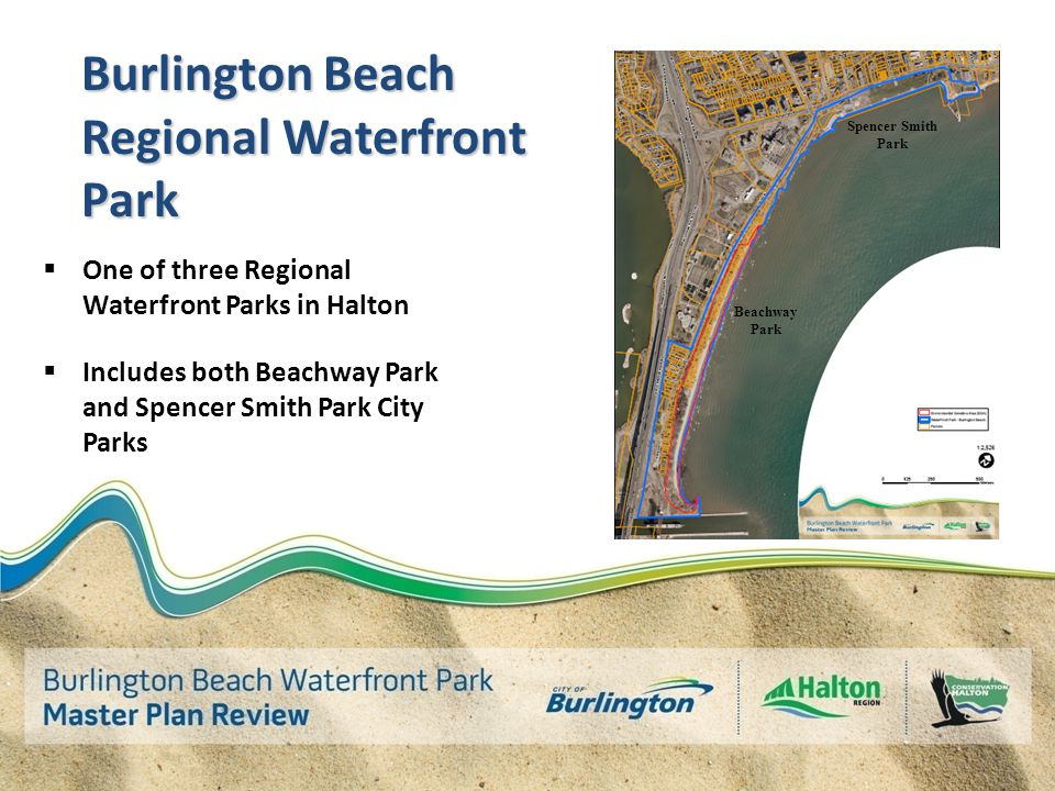 Burlington Beach  Significant natural pure sand baymouth bar feature  Spans Hamilton and Burlington  Uniquely situated in the City Lake Ontario N Burlington Canal Burlington Bay Burlington Hamilton