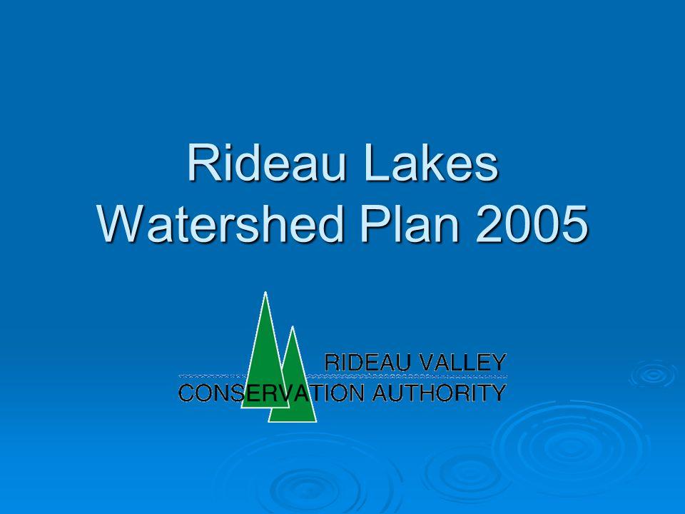 Rideau Lakes Watershed Plan 2005
