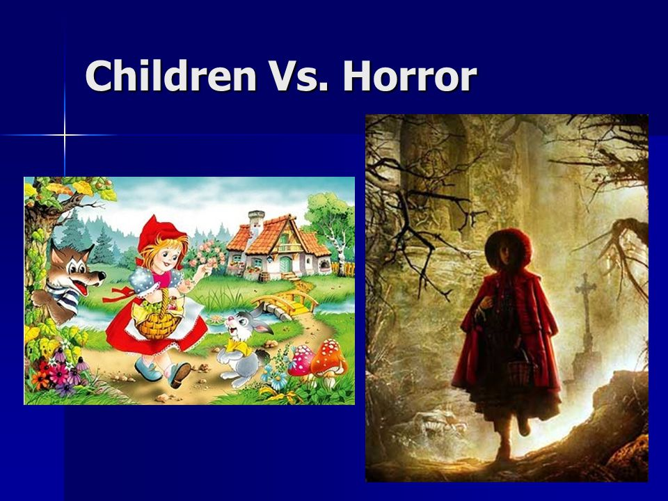 Children Vs. Horror