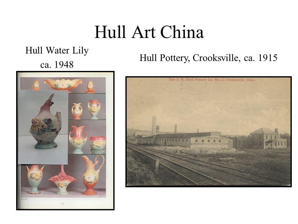 Hull Art China Hull Water Lily ca. 1948 Hull Pottery, Crooksville, ca. 1915
