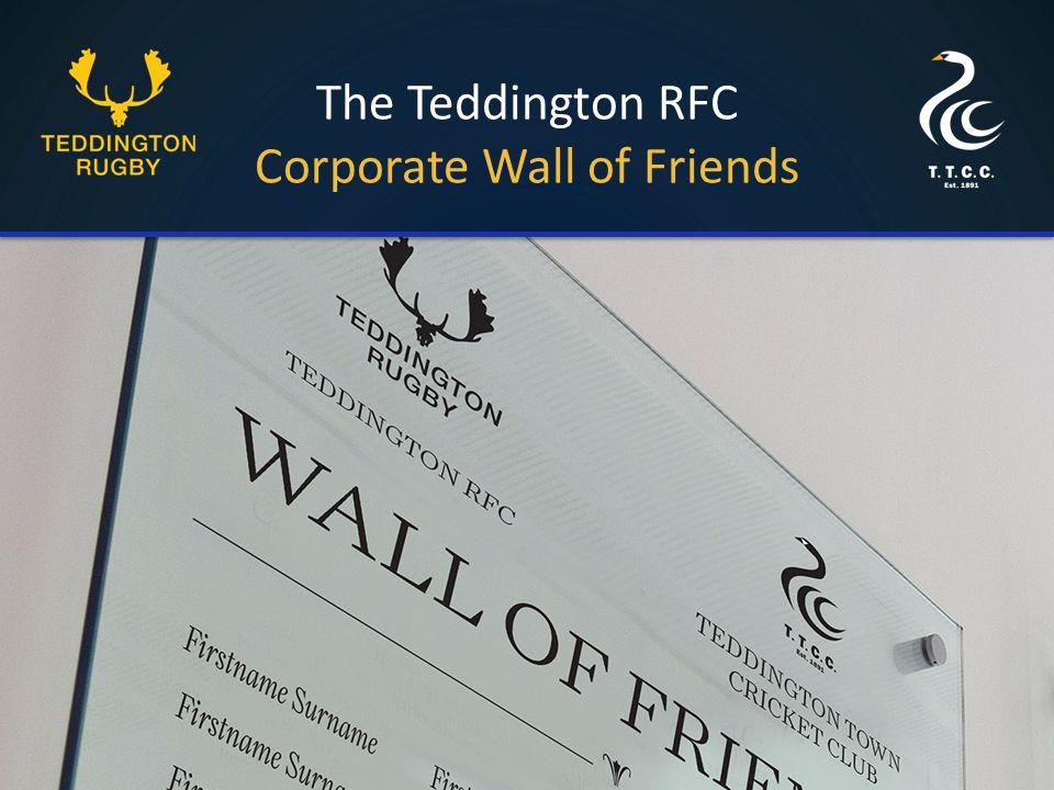 The Teddington RFC Corporate Wall of Friends