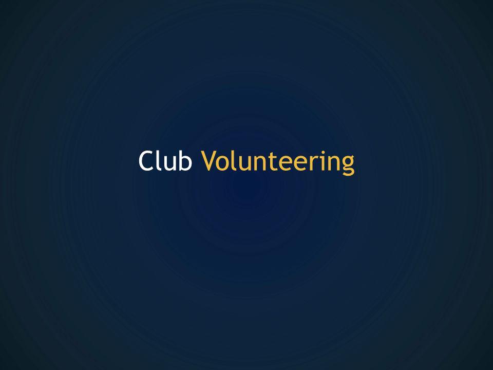 Club Volunteering
