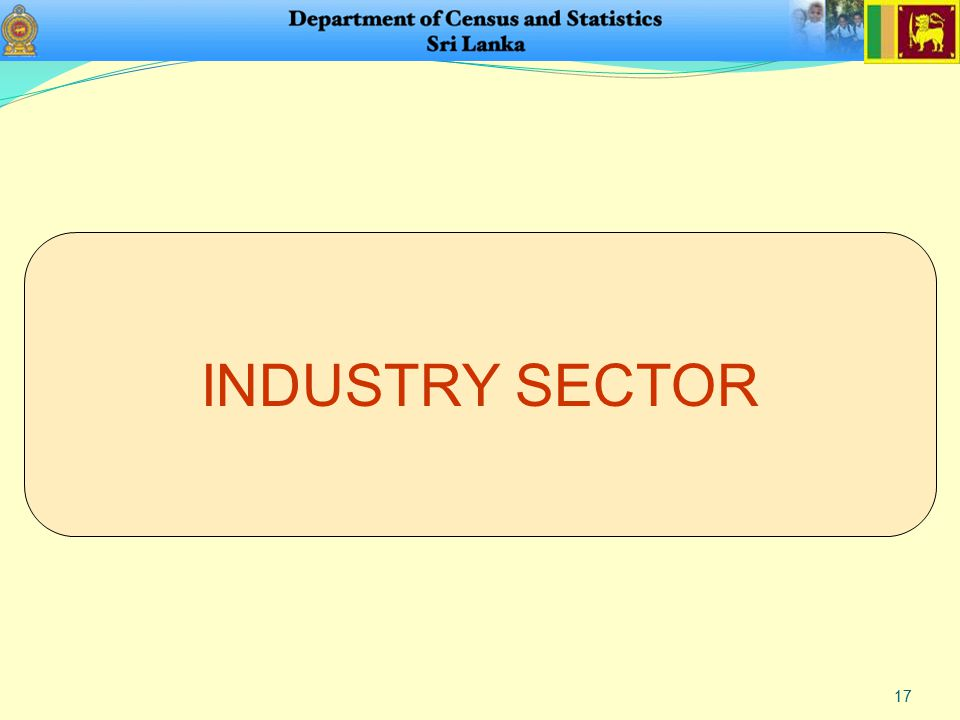 17 INDUSTRY SECTOR