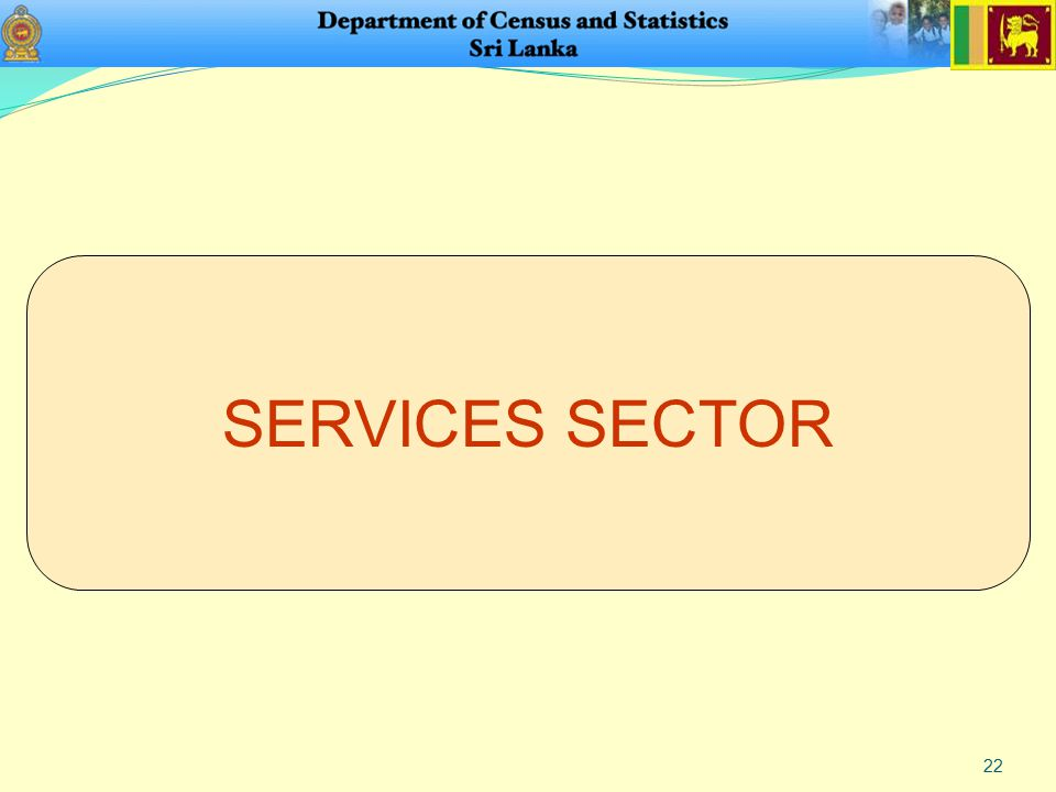 22 SERVICES SECTOR