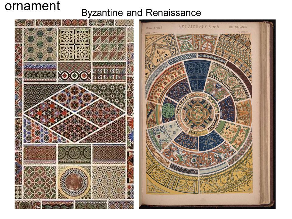 Byzantine and Renaissance ornament