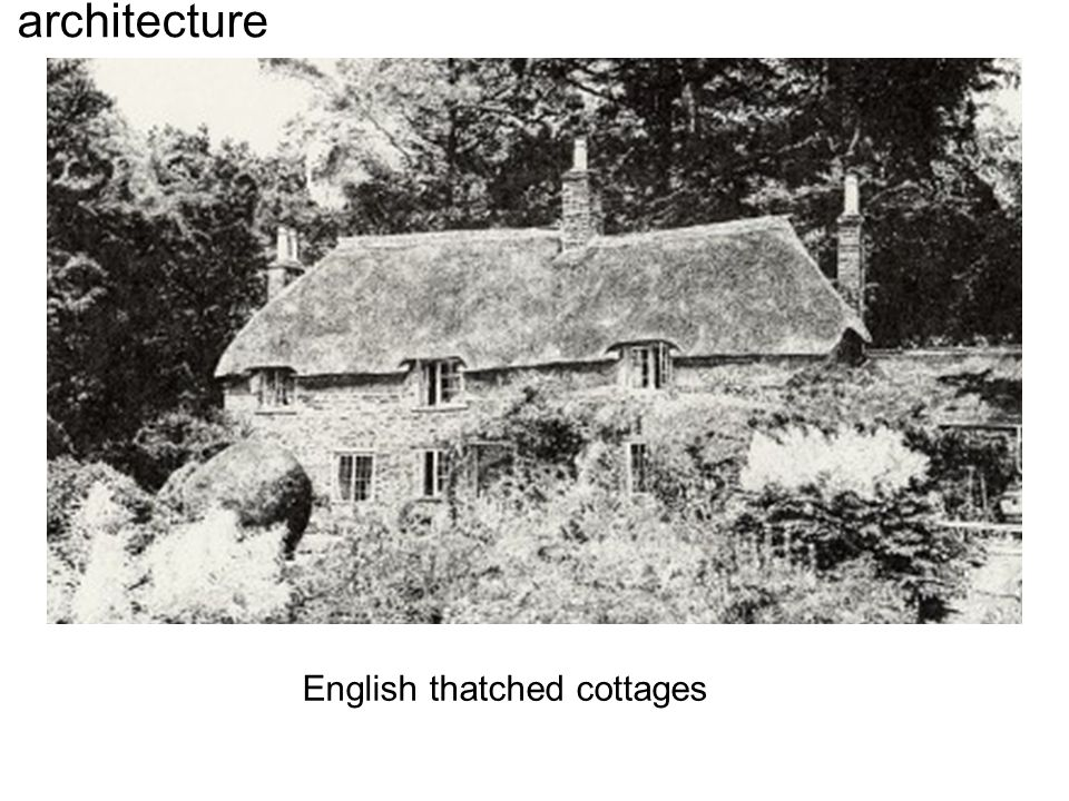 architecture English thatched cottages