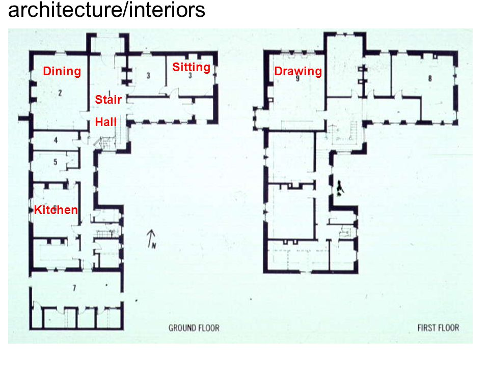 Dining Sitting Kitchen Drawing Stair Hall architecture/interiors