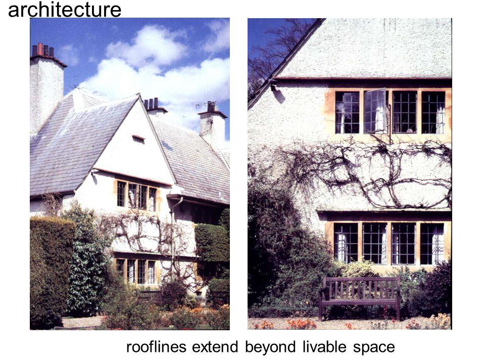 architecture rooflines extend beyond livable space