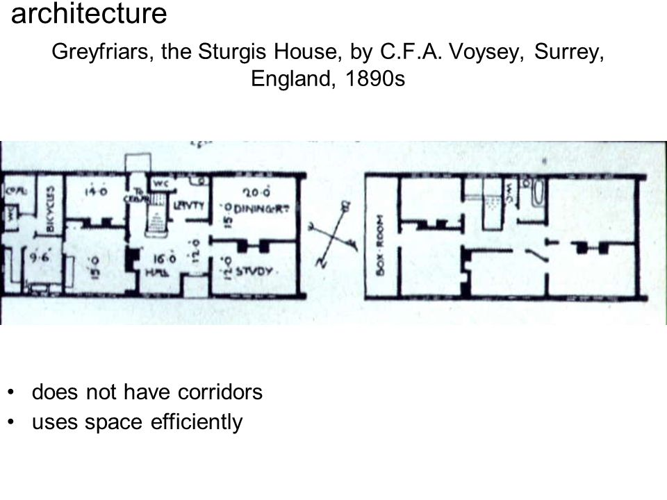 Greyfriars, the Sturgis House, by C.F.A.