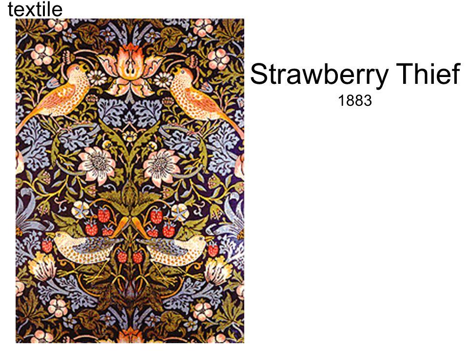Strawberry Thief 1883 textile