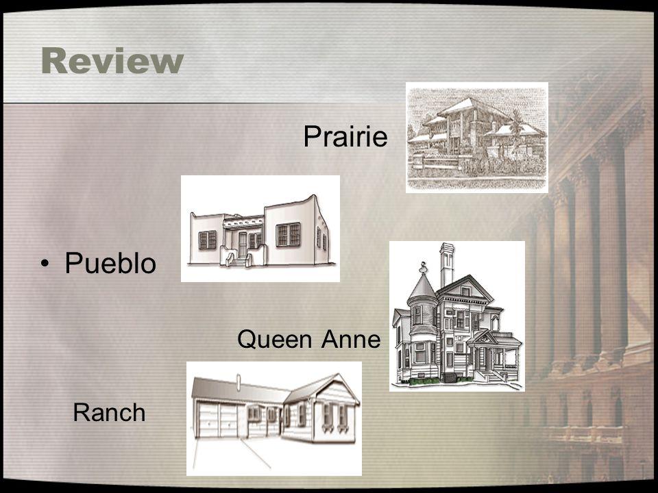 Review Prairie Pueblo Queen Anne Ranch