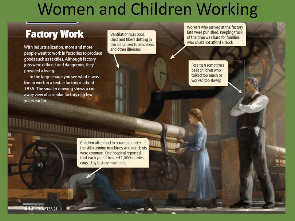 Women and Children Working